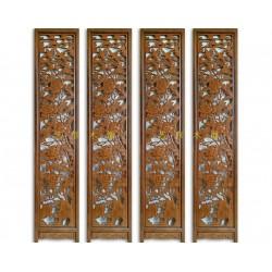 江西木雕屏风|艺修木艺声名远扬|落地木雕屏