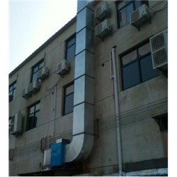 义乌市酒店饭店排烟管安装工程{