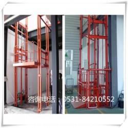 渭南 承载1-10吨液压货梯 导轨式货梯无机房