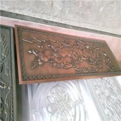 太原  铝门花铝板浮雕精雕加工定制//HED