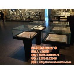 专业订制博物馆展示柜、展示柜、隆城展示(