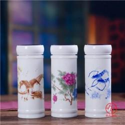 活动纪念礼品保温杯定做 陶瓷保温杯礼品