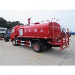 运城市天锦消防洒水车出售_东风3至4吨消防