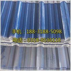 福州PVC防腐塑钢瓦各种型号报价单/报价表(