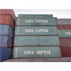 天津港二手集装箱 海运集装箱 出口自备箱