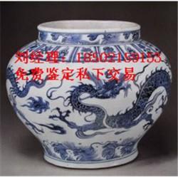 元青花莲池鸳鸯玉壶春图片及价格