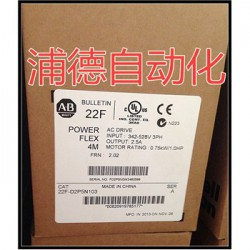 PowerFlex 4M交流变频器22F-D2P5N103原装进
