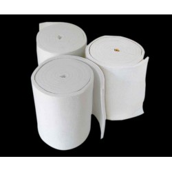 金石厂家供应热处理炉保温专用耐火卷毡/陶瓷纤维毯