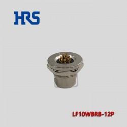 LF10WBRB-12P hrs插头12针脚 触头表面镀金