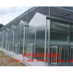 pc阳光板温室 连栋阳光板温室 青州鑫华设计建造一站式服务