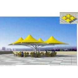 仙桃2020膜结构车棚 T型膜结构仙桃充电站遮阳棚膜结构生产