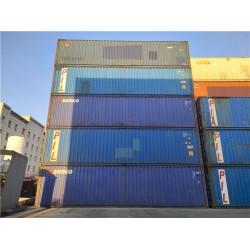 长期供应各种集装箱 冷藏集装箱 二手海运箱等