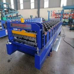 河北生产彩钢压瓦机840型压瓦机冷弯成型机