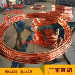 铜包钢圆线8-16铜镀钢接地线水平铜包钢圆线厂家