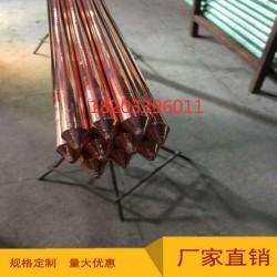 铜包钢接地极14.2-2500铜包钢接地棒镀铜接地棒垂直接地