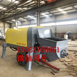 混凝土输送泵 大骨料砂细石砂浆浇筑灌浆泵