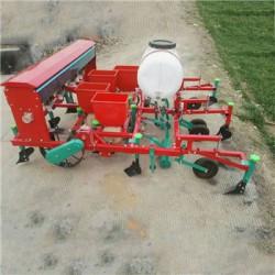 萍乡拖拉机带花生覆膜播种机 施肥播种覆膜