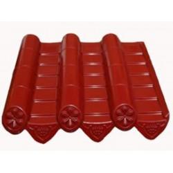 青海树脂瓦 优质甘肃树脂瓦专业销售商