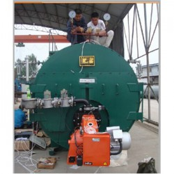 冠中热能0.5吨燃气蒸汽锅炉厂家直销