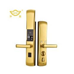 HY007华鹰全自动指纹锁,防盗门指纹锁,智能指纹锁厂家批发