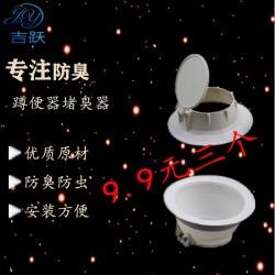蹲便器防臭器蹲坑式卫生间隔臭家用蹲厕大便池塞子厕所防臭堵臭器