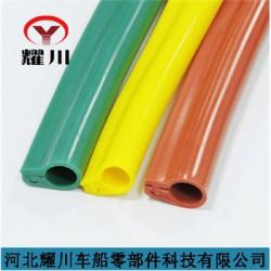供应卡扣式硅胶管 架空线路专用线缆防护套