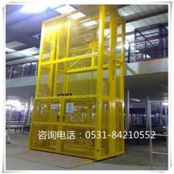 渭南 承载1-10吨液压货梯 导轨式货梯厂家安